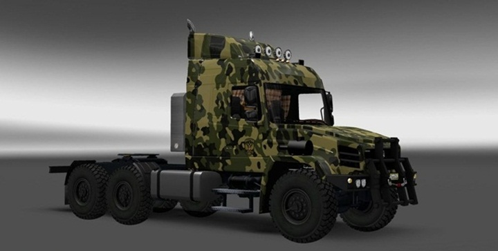 Photo of ETS 2 – Maz 6440 Harsh Russian Truck (1.28.X)