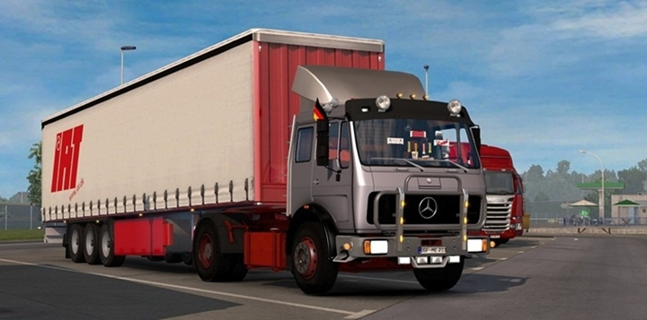 Photo of ETS 2 – Mercedes NG 1632 Truck (1.28.X)