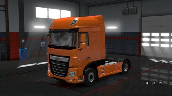 Photo of ETS 2 – Plastic Fenders for DAF Euro 6 (1.28.X)