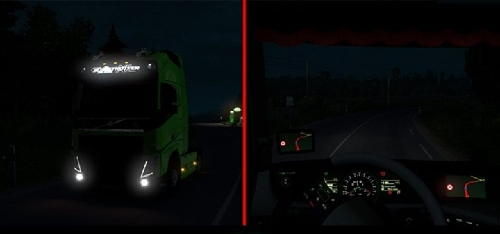Photo of ETS 2 – Real Light Mod (1.28.X)