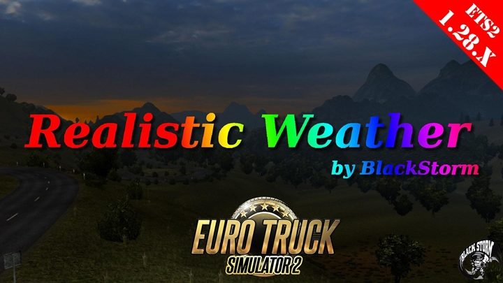 Photo of ETS 2 – Realistic Weather Mod (1.28.X)