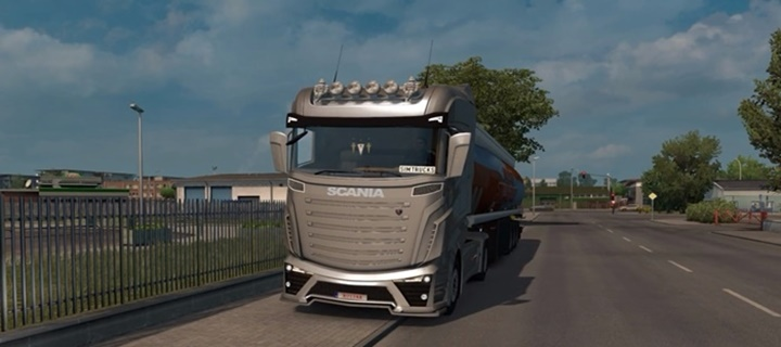Photo of ETS 2 – Scania Concept Truck (1.30.X)
