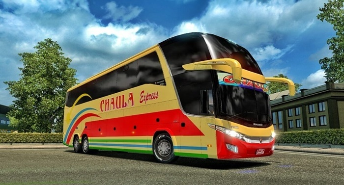 Photo of ETS 2 – Tanzania Buses Skins for Marcopolo G7 (1.30.X)