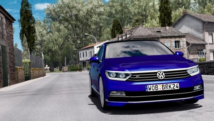 Photo of ETS 2 – Volkswagen Passat R.Line v 2.0 (1.28.X)