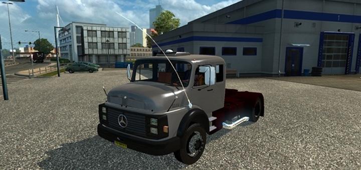 Photo of ETS 2 – Mercedes-Benz 1519 Truck (1.28.X)