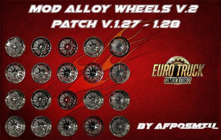 Photo of ETS 2 – Salva Modifiche Mod Alloy Wheels V2 (1.28.X)