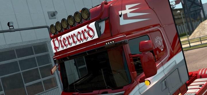 Photo of ETS 2 – Pierrard Transport Lightbox for Scania RJL (1.30.X)