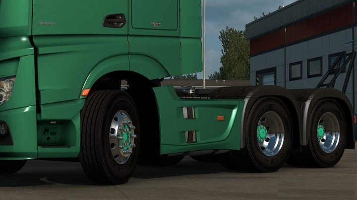 Photo of ETS 2 – Short 6×2 & 6×4 Chassis MP4 (1.28.X)