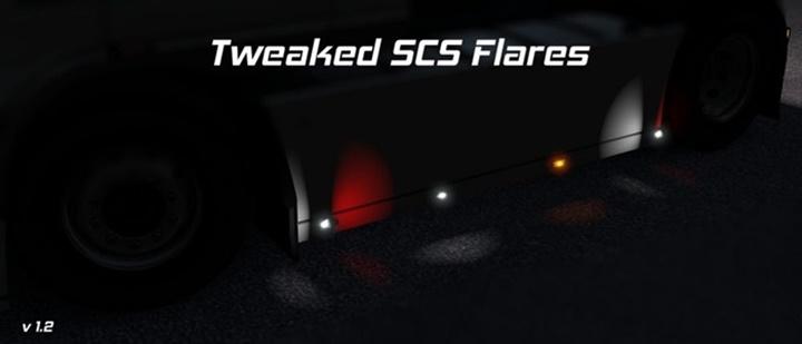 Photo of ETS 2 – Tweaked SCS Flares by obelihnio v 1.2 (1.30.X)
