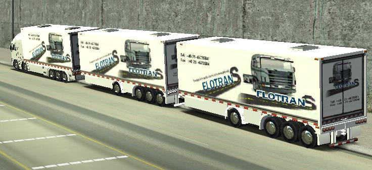 Photo of 18 WoS Haulin – Road train 4 axles trailer