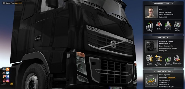 Photo of ETS 2 – Full Save Game [No DLC Needed] (1.28.X)