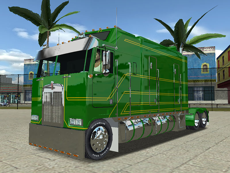 Photo of 18 WoS Haulin – Kenworth K100 Long Frame 3