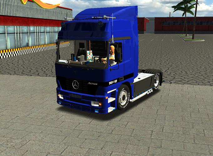 Photo of 18 WoS Haulin – MB Actros 1840