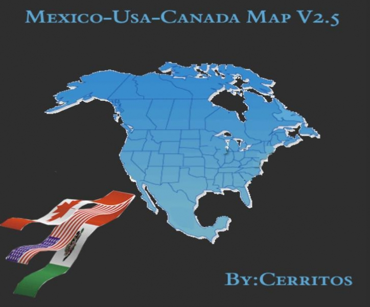 Photo of 18 WoS Haulin – Mex Usa Canada map V2.5