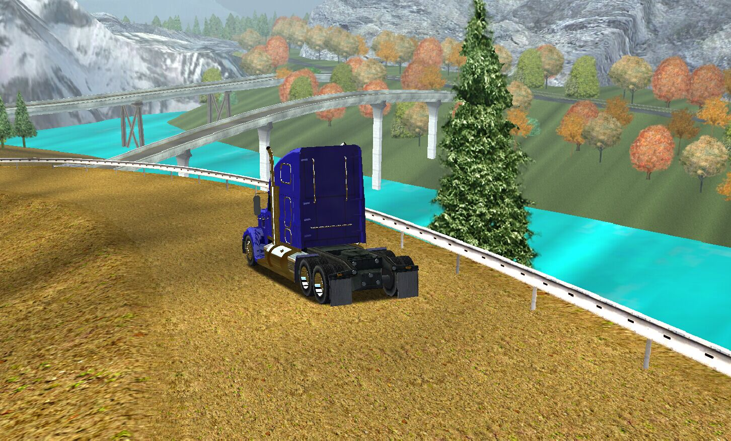 Mountain Map V3 for Haulin 18 Wos