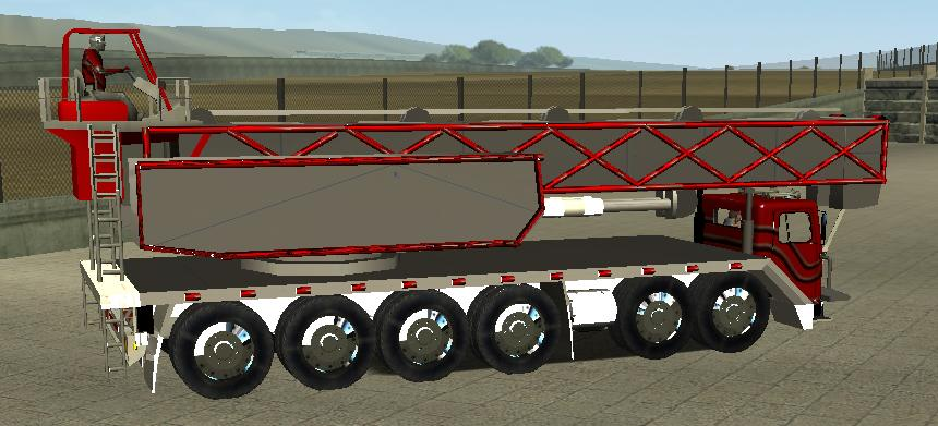 Photo of 18 Wos Haulin – Peterbilt 320 Mobile crane
