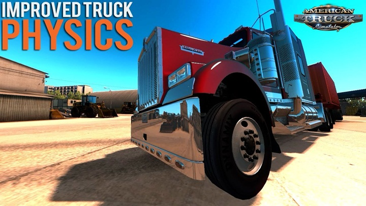 Photo of ATS – Physics for Trucks v 1.1 Improved (1.28.X)