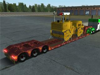 Photo of 18 Wos Haulin – Road roller trailer