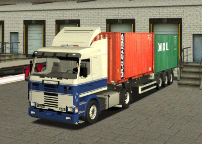 Photo of 18 WoS Haulin – Scania 143M 450