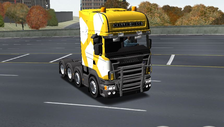 Photo of 18 Wos Haulin – Scania R580 HD