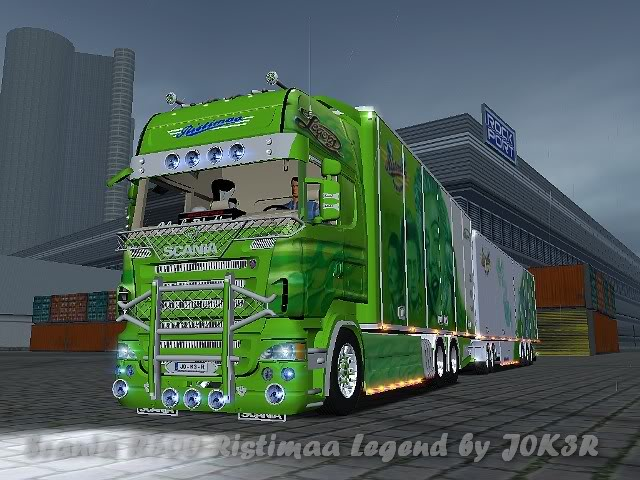 Photo of 18 Wos Haulin – Scania Ristimaa Combo