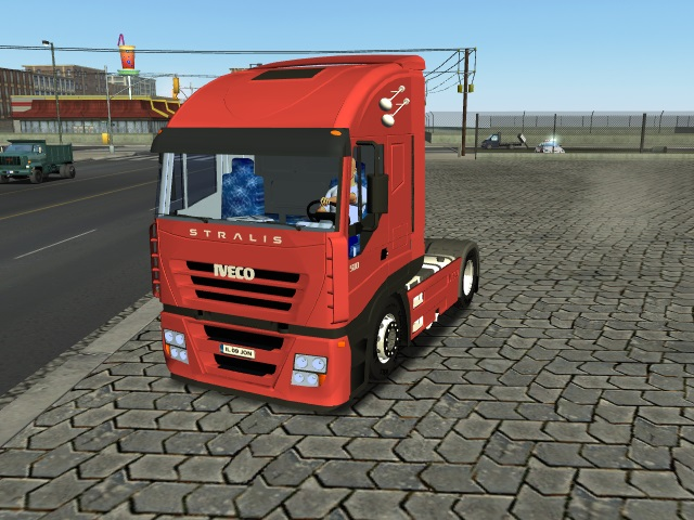 Photo of 18 Wos Haulin – Iveco Stralis AS Cube