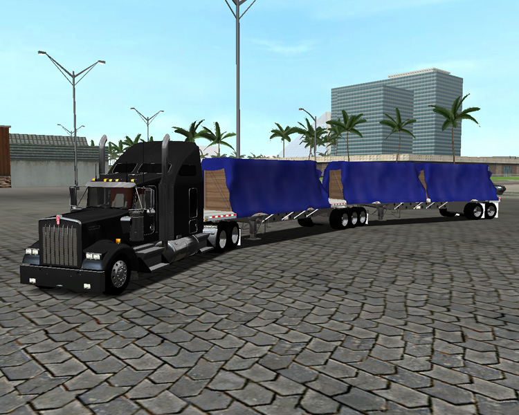 Photo of 18 Wos Haulin – SuperB Flatbeds + Trailer