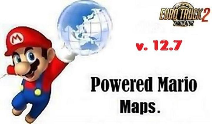 Photo of ETS 2 – Mario Map V12.7 (1.30.X)