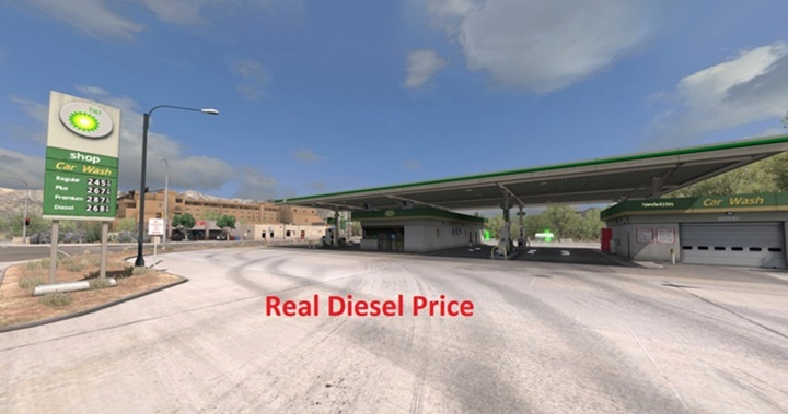 Photo of ATS – Real Diesel Prices C2C v 2.3 (1.29.X)
