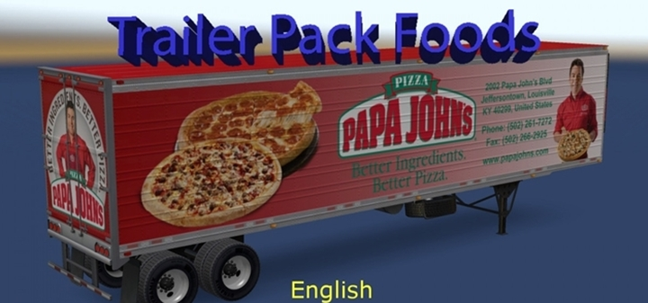 Photo of ATS – Trailer Pack Foods v 1.0 – English Addon (1.29.X)