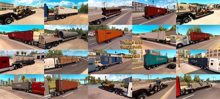 Photo of ATS – Trailers and Cargo Pack V1.9 (1.29.X)