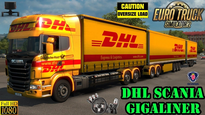Photo of ETS 2 – Dhl Painjobs Pack (1.30.X)