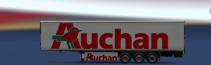 Photo of ETS 2 – Auchan Trailer (1.30.X)