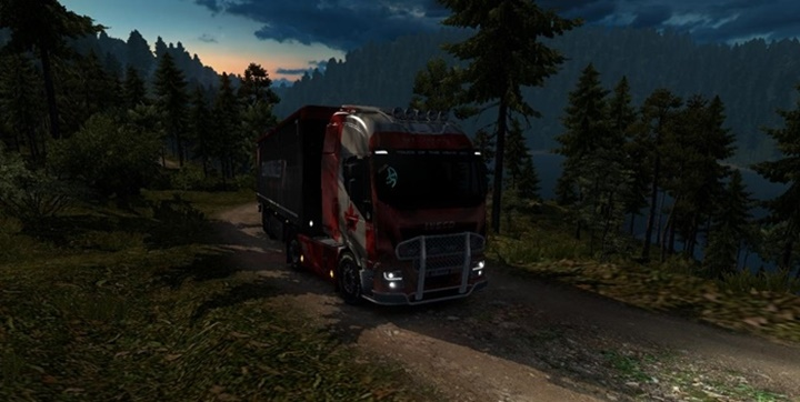 Photo of ETS 2 – Canada Map V0.1.6 (1.30.X)