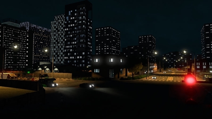 Photo of ETS 2 – Realistic Building Lights v2.4 (1.30.X)