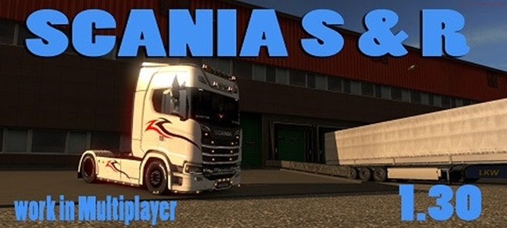 Photo of ETS 2 – Scania 750 HP (1.30.X)