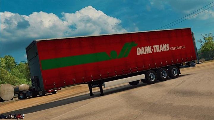 Photo of ETS 2 – Dark Trans Trailer Dirty Version (1.30.X)
