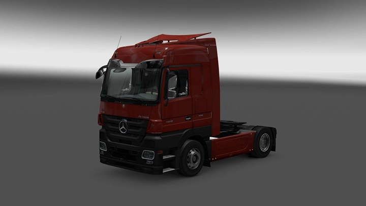 Photo of ETS 2 – Mercedes Actros MP3 Reworked v 1.7 (1.30.X)