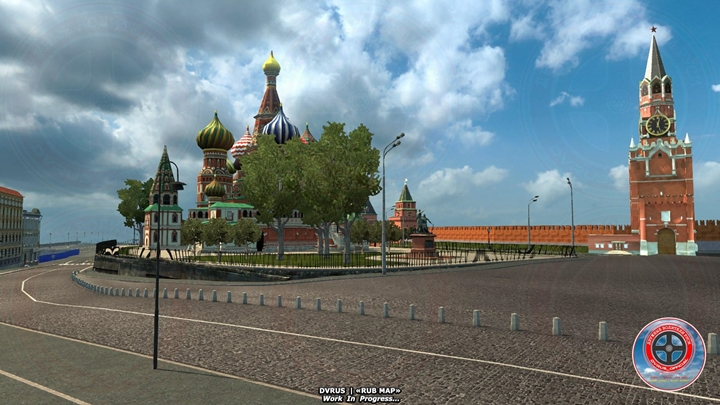 Photo of ETS 2 – Moscow IN Russia Map (1.30.X)