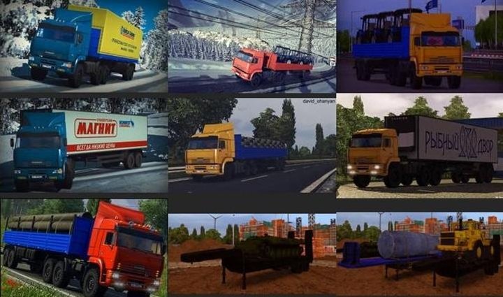 Photo of ETS 2 – Pack Russian Trailers (1.30.X)