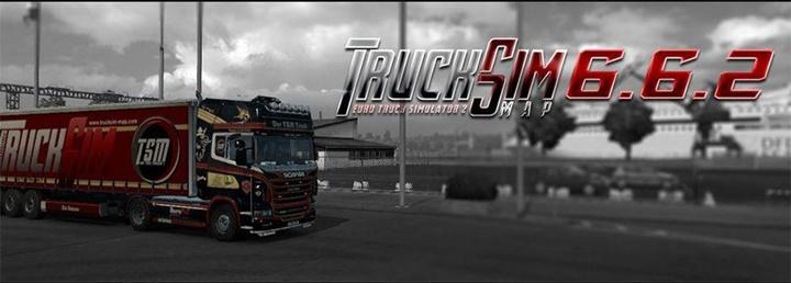 Photo of ETS 2 – Trucksim Map V6.6.2 (1.30.X)
