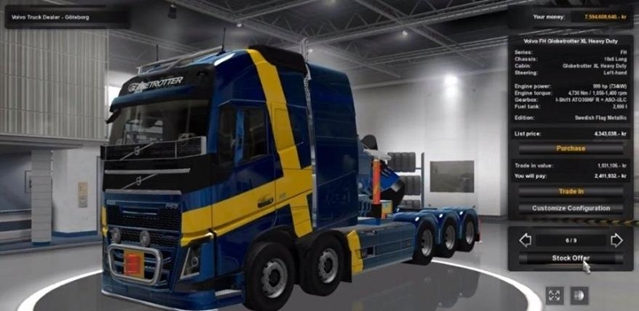Photo of ETS 2 – Volvo FH 2013 Special Transport (1.30.X)