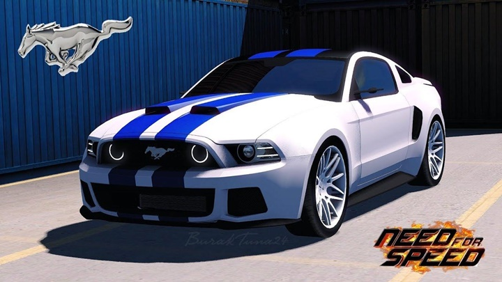 Photo of ETS 2 – NFS Ford Mustang Car Mod (1.30.X)
