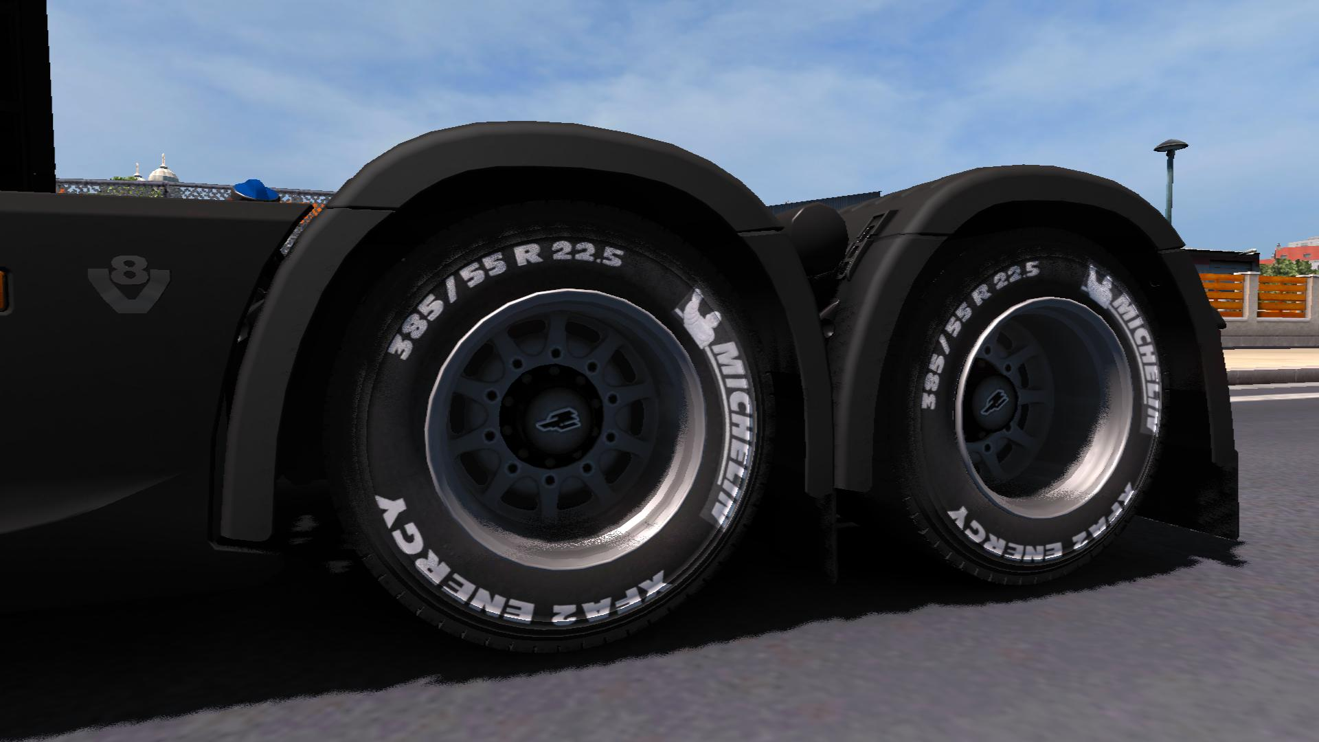 Photo of ETS2 – A Large Package of Road, Off-road and Winter Wheels V1.4 (1.30.x)