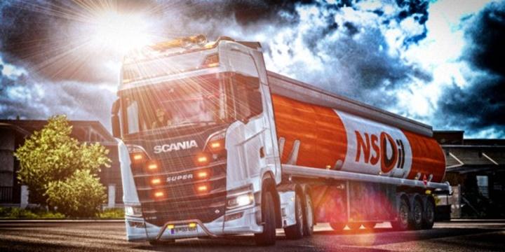 Photo of ETS 2 – Alexander Swift Scania V8 Euro 6 Stock Sound v 5.0 (1.30.X)