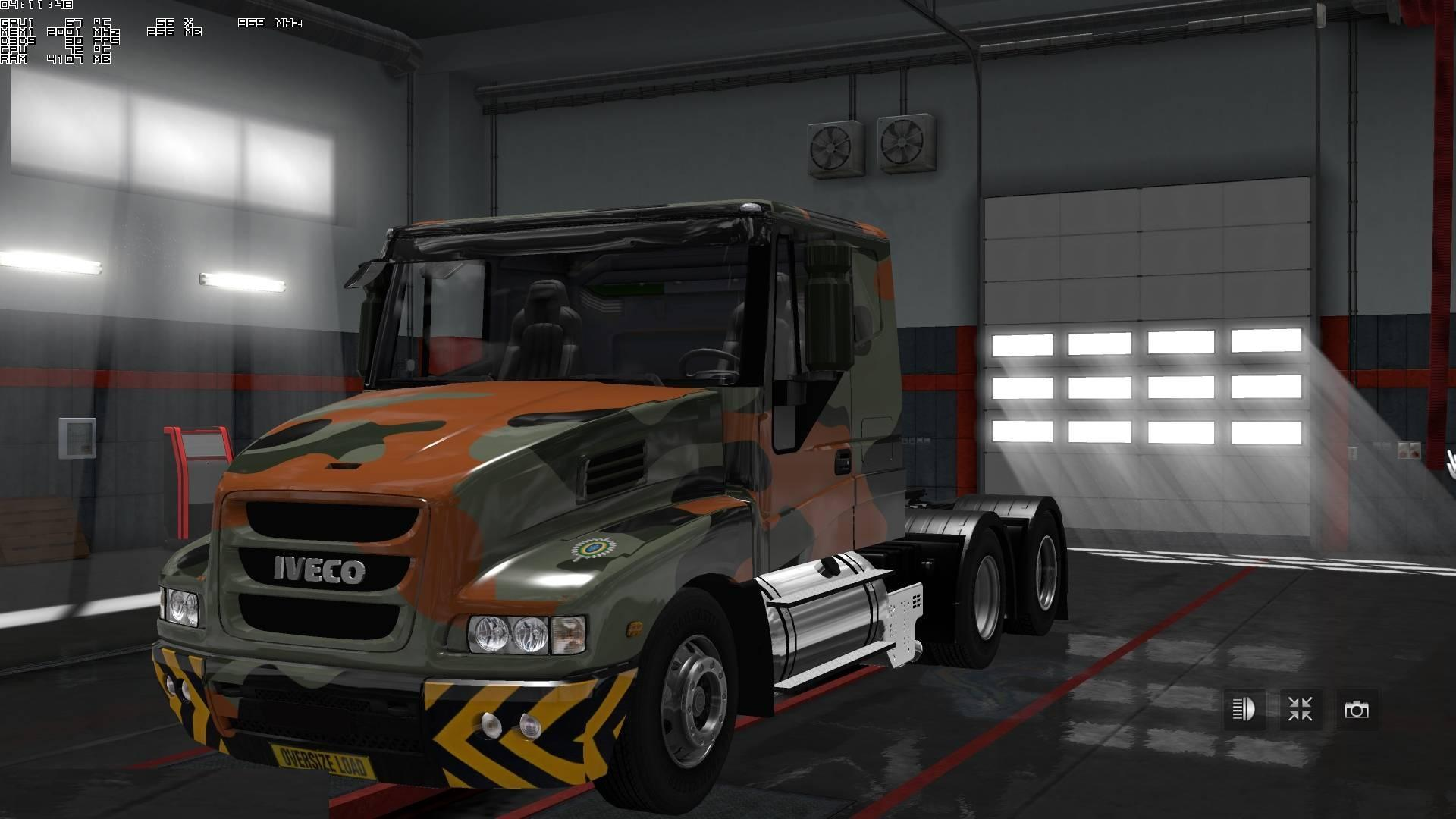 Photo of ETS2 – Iveco Strator V4.1 by Cp_mortification (1.30.x)
