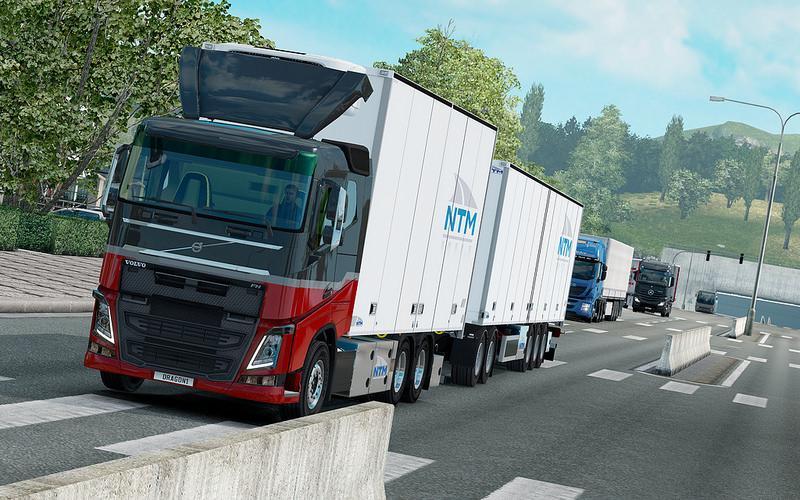 Photo of ETS2 – Kraker/ntm Tandem Addon for Volvo Fh 2012 (1.30.x)