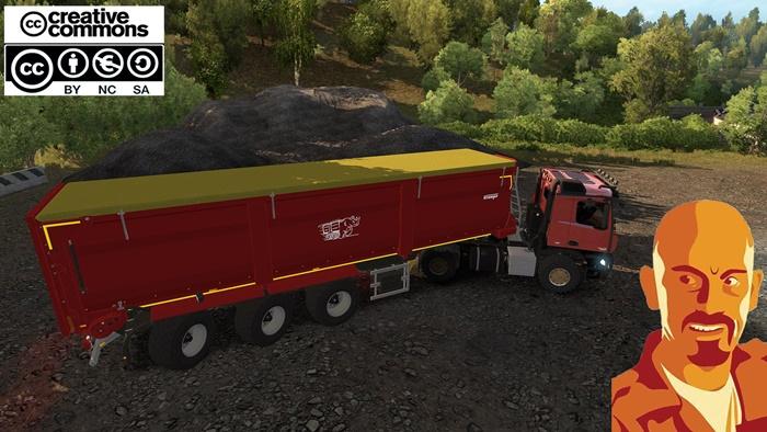 Photo of ETS2 – Krampe Sb3060 Agrar Trailer (1.30.X)