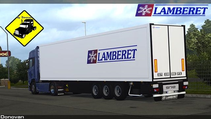 Photo of ETS2 – Lamberet Trailer v3.0 (1.30.X)