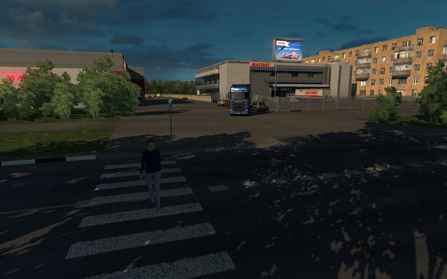 ETS2 - Map of the Moscow Region V10 0 (1 30 x) | Truck